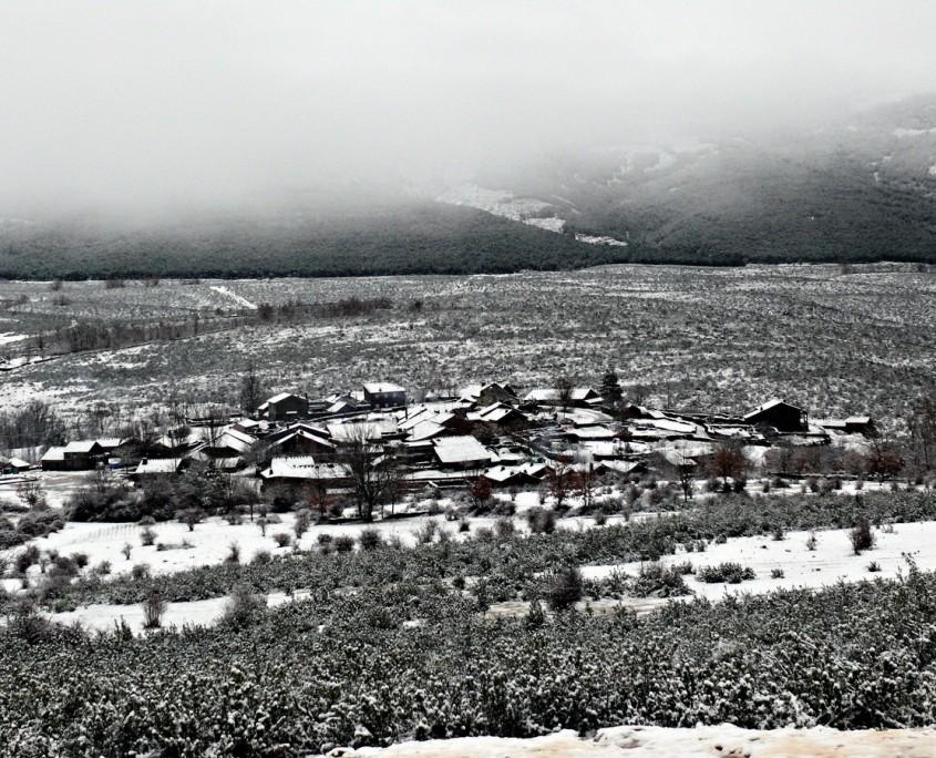 El Espinar nevado