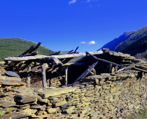 ruinas de la venta de la Vieja