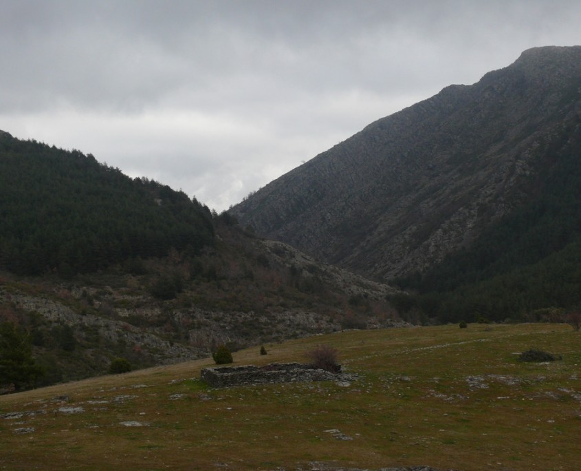 Vista de la ermita de Santa Ana